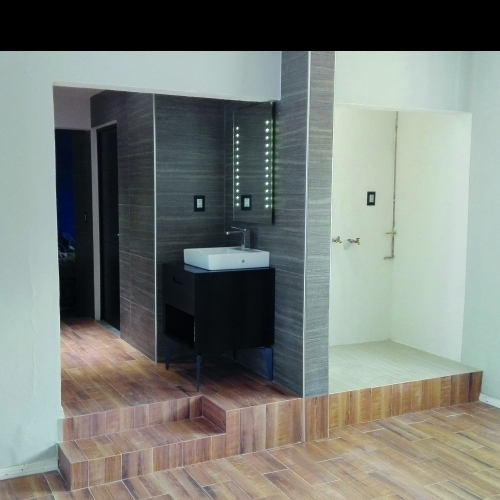 Obra: Remodelación de Baño en México DF