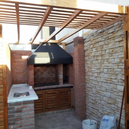 Obra: Terraza con Parrilla en Almagro - Buenos Aires